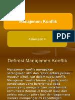 PPT Manajemen Konflik