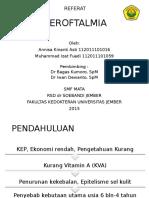 REFERAT xeroftalmia presentasi