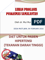 Penyuluhan Diet Pd Pasien Hipertensi- Dr.mui