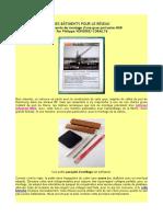 DES BÂTIMENTS POUR LE RÉSEAU H0 Compte-rendu de montage d'une grue portuaire MKB  Par Philippe VÉPIERRE/ CORAIL76