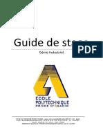 Guide Stage Génie Industriel