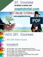 ACC 201(Ash) Academic Success /snaptutorial