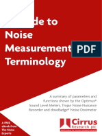 A Guide to Noise Measurement Terminology