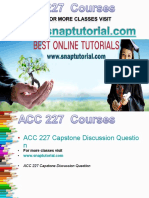 ACC 227 Academic Success/snaptutorial