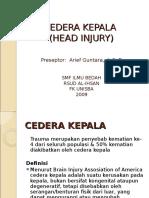 Cedera Kepala Dr.arief.spb