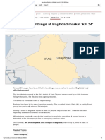 Iraq Violence_ Bombings at Baghdad Market 'Kill 24' - BBC News