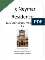 Eric Neymar Residence- Residential Design