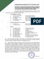 Addendum No 1 & Minuts of Pre Bid Meeting of Shaheed Benazir Bhutto Bridge