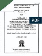 Tender Documents Pkg 4 Shaheed Benazir Bhutto Bridge