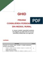 1 Ghid de consiliere profesionala a persoanelor din mediul rural.doc