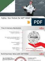 Build Business Value with Fujitsu as Your Partner for SAP HANA