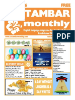 Costambar Monthly March 2016