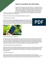 Trik Membeli Smartphone Yang Bagus Dan Berkualitas