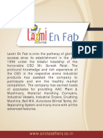 Laxmi en fab Pvt. Ltd. Gujarat India