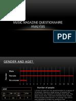 music magazine questionnaire analysis  2
