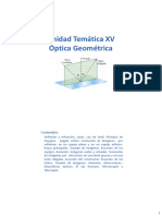 Física. Optica Geométrica