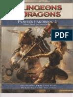Player's Handbook 3 Bookmarked)
