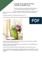 Muy buen negocio centrado en las reforma de cocina Valladolid por las cercanias de Castilla y Leon