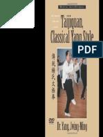 Taijiquan Classical Yang Style
