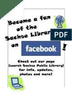 FacebookSachseLibrary