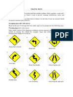 Traffic SignsTRAFFIC SIGNS