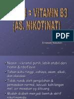 Niasin (VIT B3)