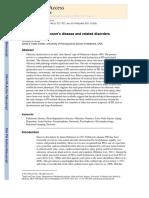Nihms345908 Olfaction Parkinson Disease