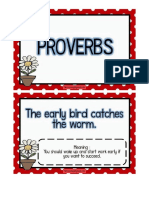 Proverbs for English Board