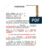 Expression Ecrite Pasteur