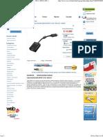 Displayport a VGA