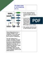 Advanced Process Optimizer