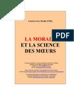 Morale et science des moeurs
