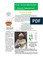 March 2016 Newsletter