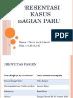 Presentasi Kasus TB Paru Hemoptoe