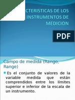 Caracteristicas de Los Instrumentos