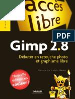 Gimp 2 8 Debuter en Retouche Photo Et Graphisme Libre