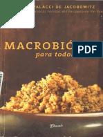 Macrobiotica Para Todos Perla Palacci 2004 Parte1