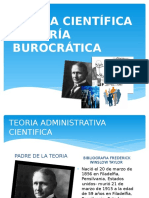 TEORÃ-A CIENTÃ-FICA Y TEORÃ-A BUROCRÃ-TICA GG.pptx