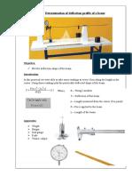 Deflection Work Sheet