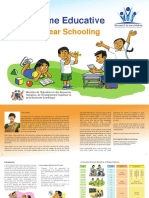 Nine year schooling Brochure