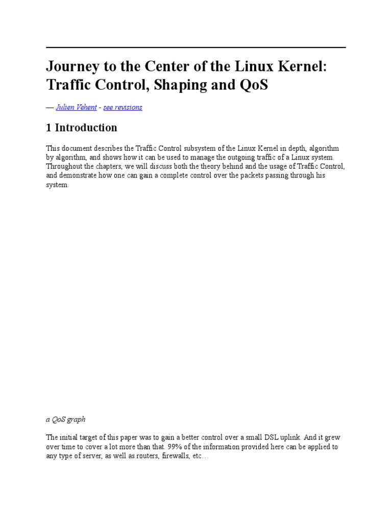 Journey to the Center of the Linux Kernel | Transmission Control
