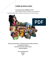 Informe Final de Resultados Caracterizacion Indigena 2015