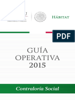 01 Guia Operativa Para La Promocion de La Contraloria Social 2015