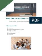 Parte Tecnica.MINICURSO DE BLOGGING Conceptos Basicos y Esenciales