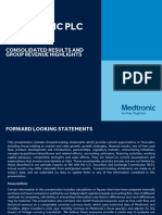 Medtronic Group Revenue Presentation FY16Q3 FINAL