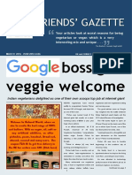 FRIENDS' GAZETTE MARCH 2016