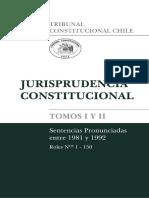 Sentencias Tribunal Constitucional de Chile - Tomo 1 y 2
