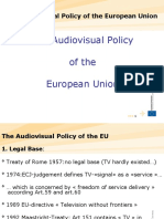 Audiovisual Policy of the European Union