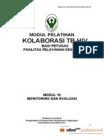 Modul 10 - Monev Tb-hiv Di Upk _08 Febr 2012