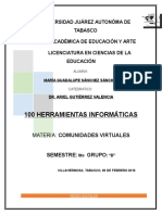 100 Herramientas Informaticas Comunidades Virtuales